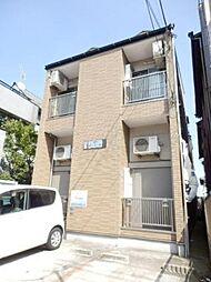 千葉県市川市関ケ島の賃貸アパートの外観