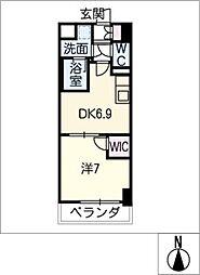 MX-1(エムエックスワン)[8階]の間取り
