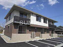 岡山県岡山市北区南方3丁目の賃貸アパートの外観