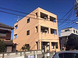 神奈川県藤沢市鵠沼海岸3丁目の賃貸マンションの外観
