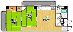 メゾンINAKO 1[203号室]の間取り