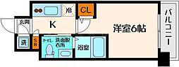 エスリード京橋ノースプレイス[7階]の間取り