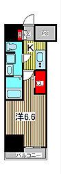 AZEST西川口[5階]の間取り