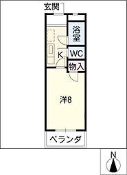 クールソレイユTOHRU[2階]の間取り