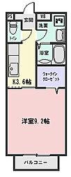 S-K松阪[108号室]の間取り