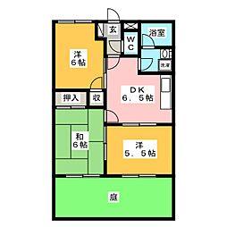 エイトハウスA[1階]の間取り