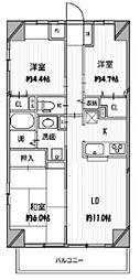 COMODO宮崎台[7階]の間取り