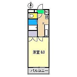 シャルム杉ヶ内I[1階]の間取り