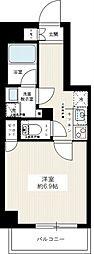 マキシヴ糀谷[2階]の間取り
