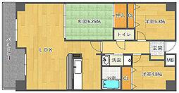 アビタシオン橋本II[2階]の間取り