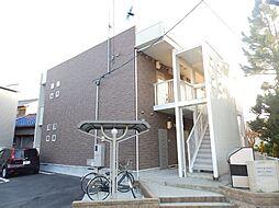 三重県津市江戸橋1丁目の賃貸アパートの外観