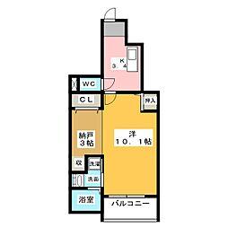 グレイスフル[1階]の間取り