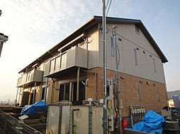 京都府京都市伏見区深草大亀谷東寺町の賃貸アパートの外観
