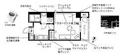 プチグランデ駒形[7階]の間取り