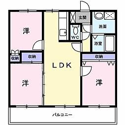 コンフォールマンション[302号室]の間取り