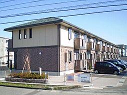 富山県富山市粟島町1丁目の賃貸アパートの外観