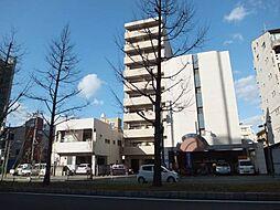 愛媛県松山市平和通3丁目の賃貸マンションの外観