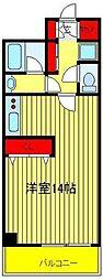 オアシス 2000[305号室]の間取り