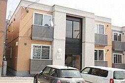 北海道札幌市中央区宮の森二条8丁目の賃貸アパートの外観