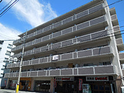 愛媛県東温市志津川の賃貸マンションの外観