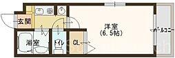 三国ヶ丘ピア[4階]の間取り
