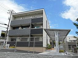 兵庫県西宮市上ケ原四番町の賃貸アパートの外観