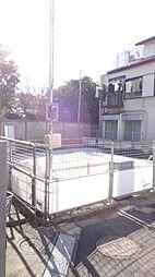 東京都北区志茂2の賃貸アパートの外観