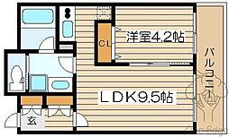 ダイナシティ梅田[6階]の間取り