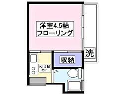 レジデンスすみれB棟[2階]の間取り