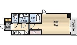 ファーストステージ北大阪レジデンス[6階]の間取り