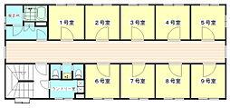 ステューディオ桜台[2階]の間取り