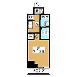 アーデン春岡[3階]の間取り