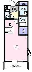 ローズマリー[1階]の間取り