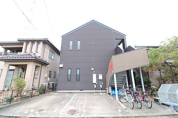 アップルハウス紫竹山[2階]の外観
