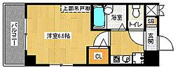 「ラナップスクエア京都北野」[4階]の間取り