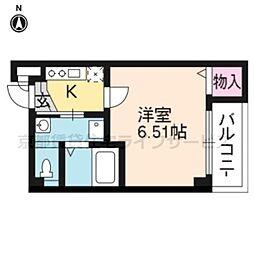 ジュネス京都[405号室]の間取り