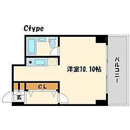 HF梅田レジデンスTOWER(タワー)[7階]の間取り
