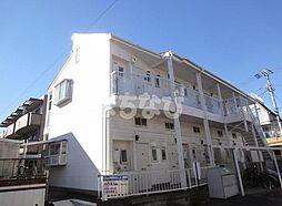 千葉県市川市欠真間2丁目の賃貸アパートの外観