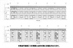 D-room横代北町II A棟[2階]の外観