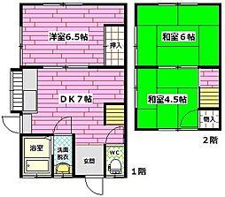 [一戸建] 広島県広島市安佐南区西原6丁目 の賃貸【/】の間取り