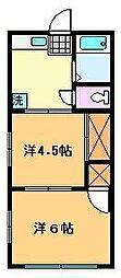 タイムズマンション[3階]の間取り