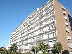 新松戸ファミールハイツ4号棟[809号室]の外観