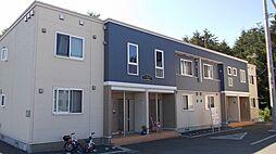 北海道札幌市厚別区厚別東五条2丁目の賃貸アパートの外観