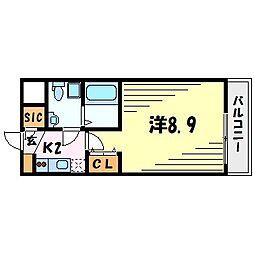 セレニテ甲子園II[6階]の間取り