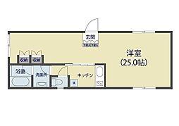 M3戸田公園[303号室]の間取り