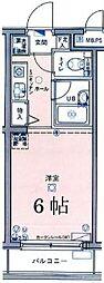 神奈川県川崎市多摩区枡形3丁目の賃貸マンションの間取り