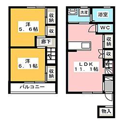 サンシャイン桜パーク[1階]の間取り