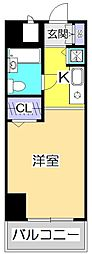 東京都国分寺市本町2丁目の賃貸マンションの間取り