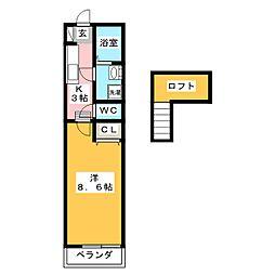 トップハウス垂水I[1階]の間取り