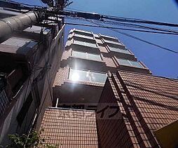 京都府京都市下京区三軒町の賃貸マンションの外観